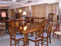 Hardwood kitchen table and chair sets